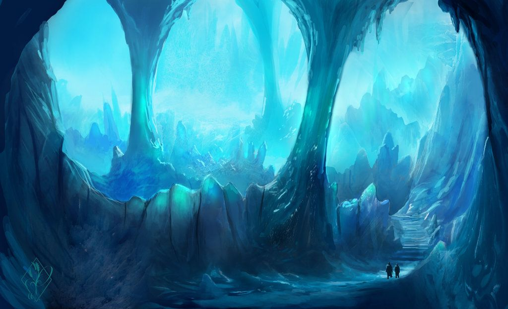 Ice Caverns by jjpeabody on deviantART  The Road Leads