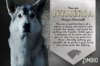 Nymeria Game of Thrones