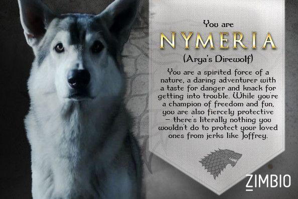 Nymeria Game of Thrones