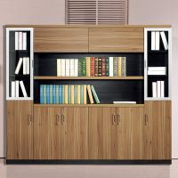 China High Quality Cheap Wooden Office Wall Cabinet Modern
