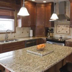 Maple Countertops Kitchen Layout Design Tool Nutmeg Cabinets With Granite Tops And Light Colored