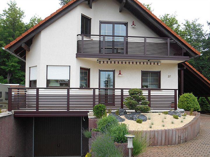 Riesige Auswahl Balkone Balkongelander Und Zaune Aus Aluminium Holz Oder Edelstahl Leeb
