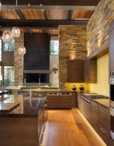 relaxed mountain modern home was commissioned by ward young architects along with riera design and interiors located in martis camp california also lake tahoe automation contemporary kitchen rh uk pinterest