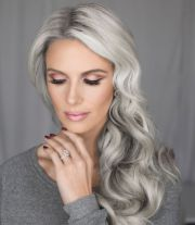 hairstyles gray fade