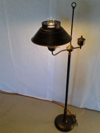 Vintage Mid Century Tole Ware Standing Lamp Floor by ...
