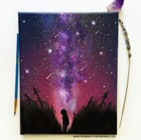 Space Painting Oil Painting - Wall Art - Space Art - Spray ...
