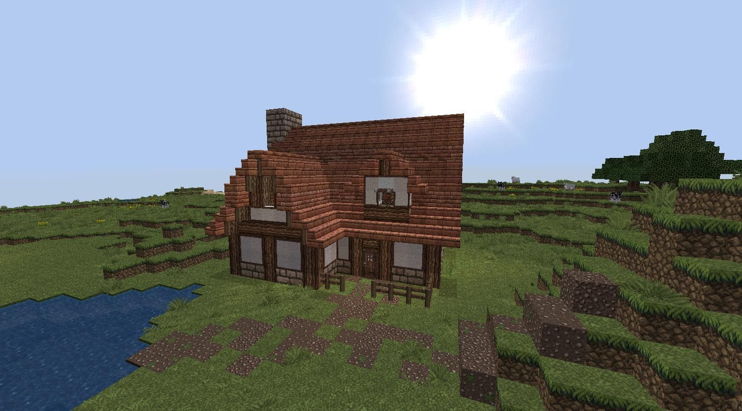 How To Build Little Minecraft Houses Small House Minecraft Eahzu