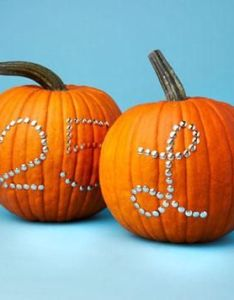 No carve pumpkin decorating also easy diy ideas cause  think of halloween rh pinterest