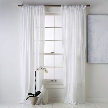 White Sheer Curtains Mine And Harry's Room Curtains And Blinds
