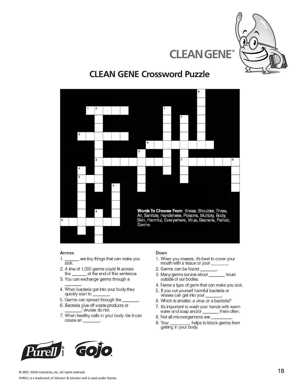 K 5 Hand Hygiene Lesson Plans And Worksheets Lesson 1 Page 3