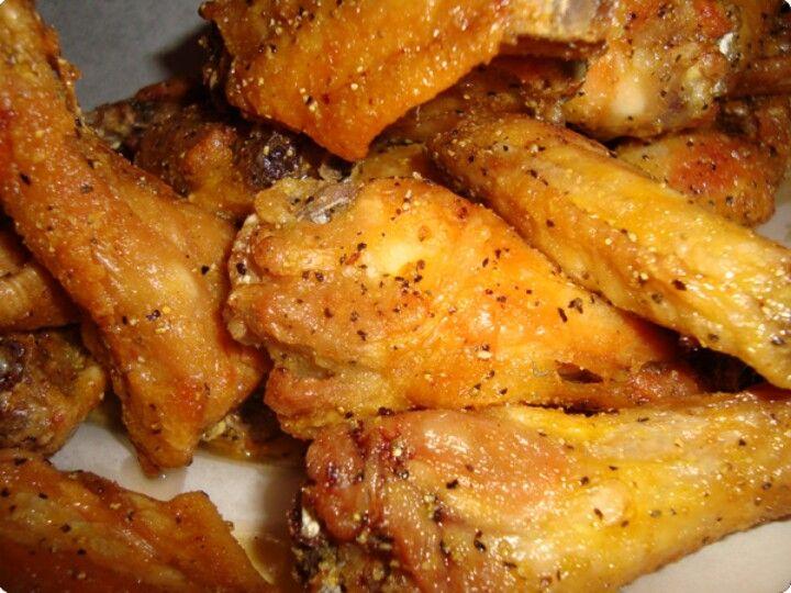 how to make baked lemon pepper wings