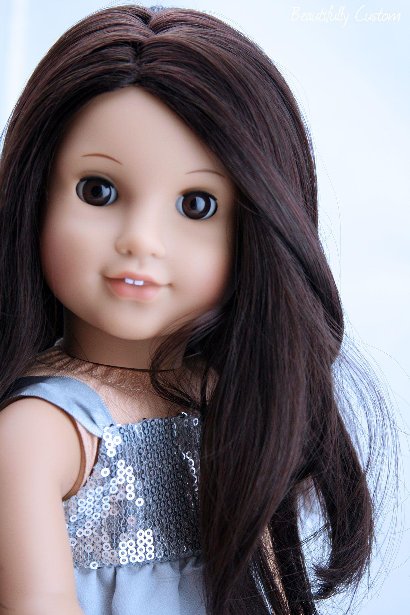 Custom Julie Custom Julie with deep brown eyes Jess black hair with