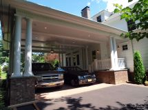 House with Porte Cochere