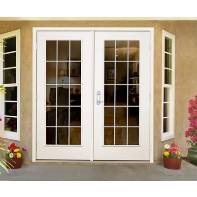 Home Depot French Doors Exterior Outswing
