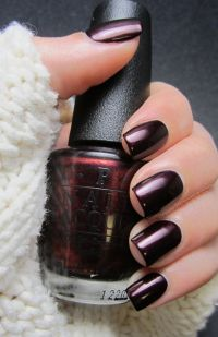 OPI ~ Every Month is Oktoberfest.. Great fall color ...