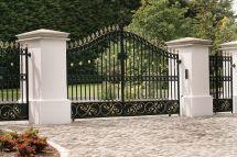 Wrought Iron Gate Designs Entrance