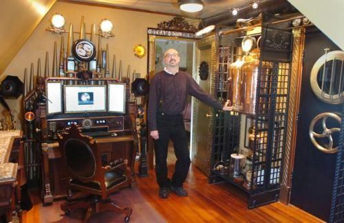 Bruce Rosenbaum ModVic Steampunk Designs 500×325 Steampunk