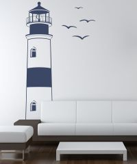 Sissy Little Lighthouse Wall Decal | Lighthouse, Wall ...