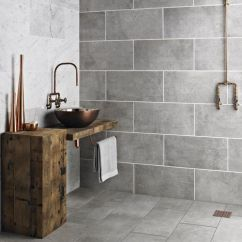 Cement Kitchen Sink Cabinet Reface 8x24 Tile Stacked Vertical In Shower - Google Search ...