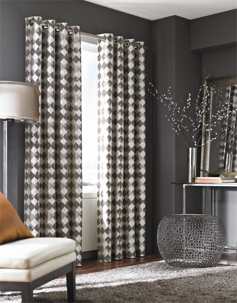 Palisade Tile Curtain Panel BestWindowTreatments Com Unique