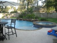 small back yard pools with spas