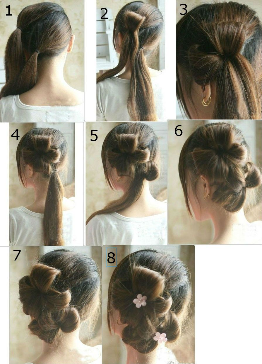 16 Step By Step Hairstyles For Changing The Whole Appearance