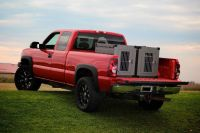 Truck Bed Dog Crates | Vehicle Organization | Pinterest ...