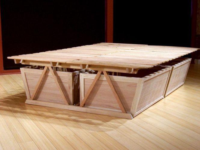 Diy Tall Bed Frame High Platform
