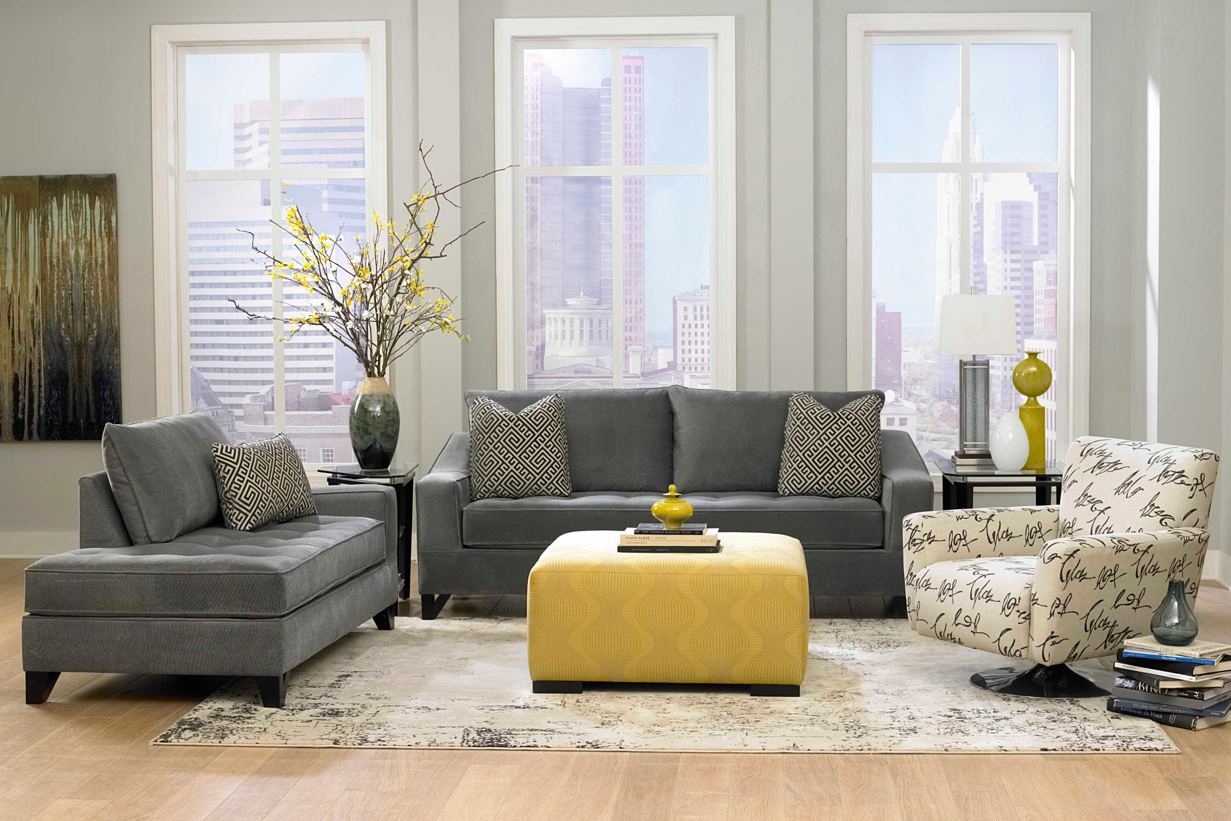 Window furniture in living room table ideas gray laminate wooden flooring paint color scheme decor grey sofa also image result for small  sectional and coffee rh za pinterest