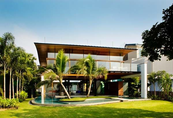 Tropical Modern House Google Search Home Pinterest House