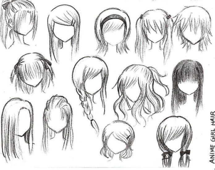 Anime Girl Drawings on Pinterest | Anime Sketch, Anime Drawing