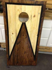 Corn Hole Boards Of Pallet Wood. Pallets