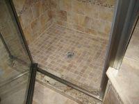 tile over tub tiles | Tile mud pan shower floor | New ...
