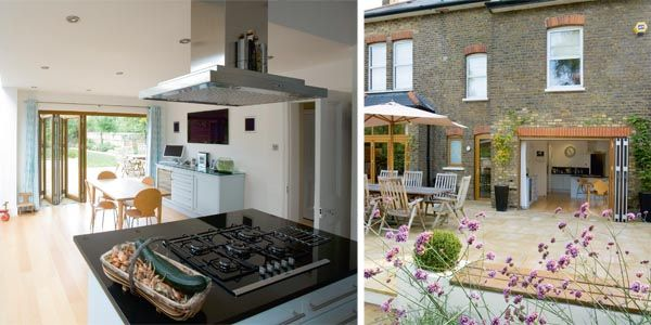 Victorian Home Light Filled Extension Extension Pinterest