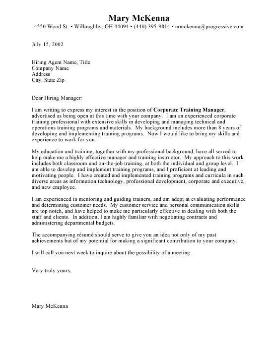 Example Of Resume Cover Letter For Job Sample Resume Letters Job
