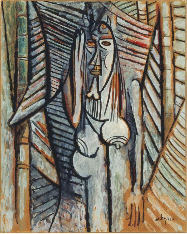 Wifredo Lam Cuban 1902-1982 Find Works Of Art