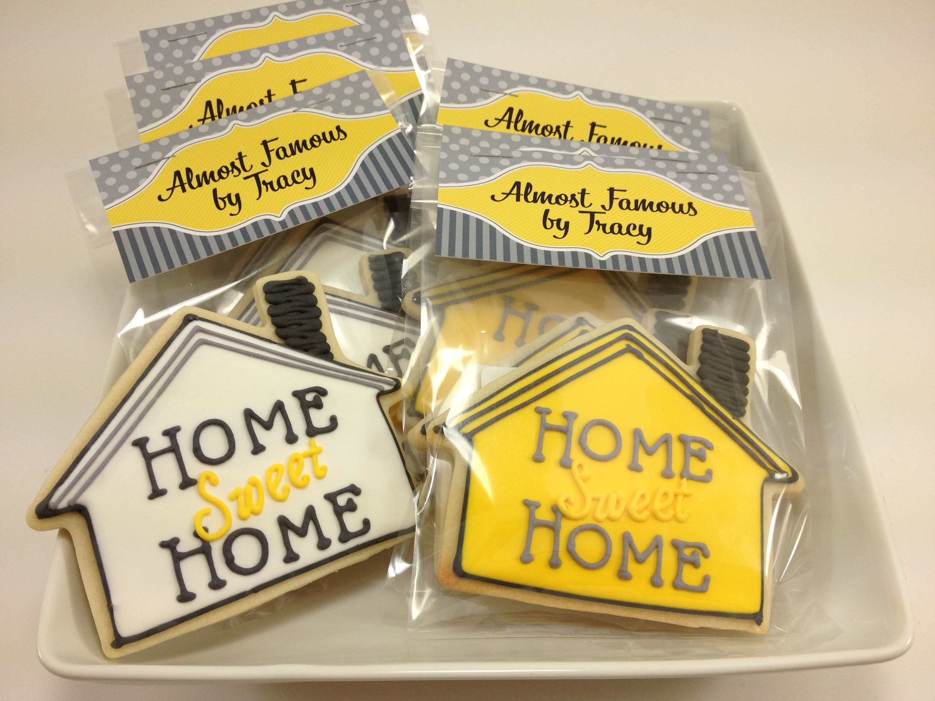 It's A Housewarming Party Cookie Favors Housewarming Party And