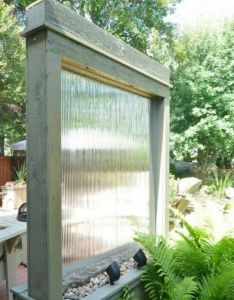 water walls for your outdoor spaces comfydwelling pinoftheday waterwalls also rh pinterest
