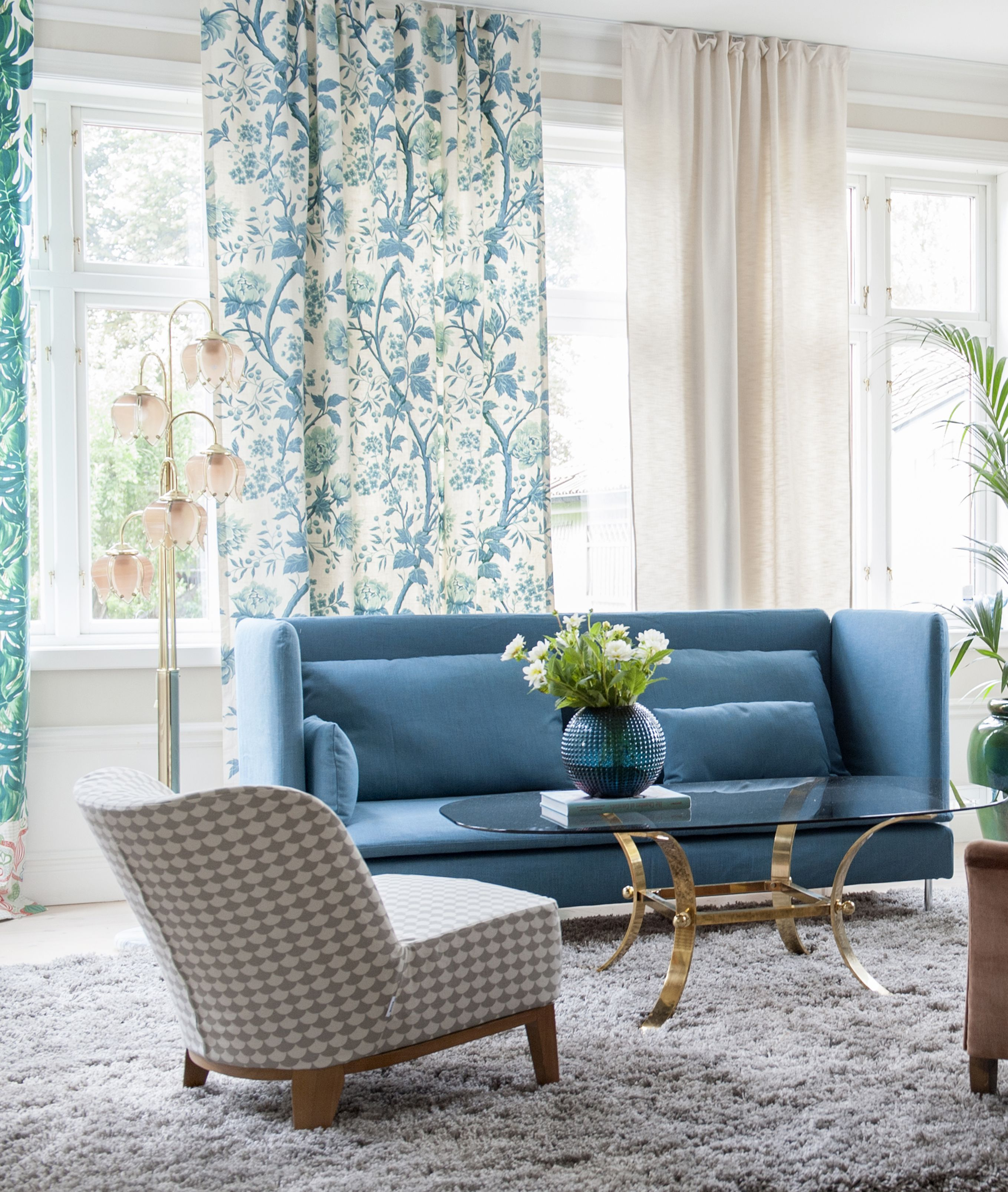 teal blue chair sashes glider patio chairs canada vintage curtains söderhamn high back sofa cover in