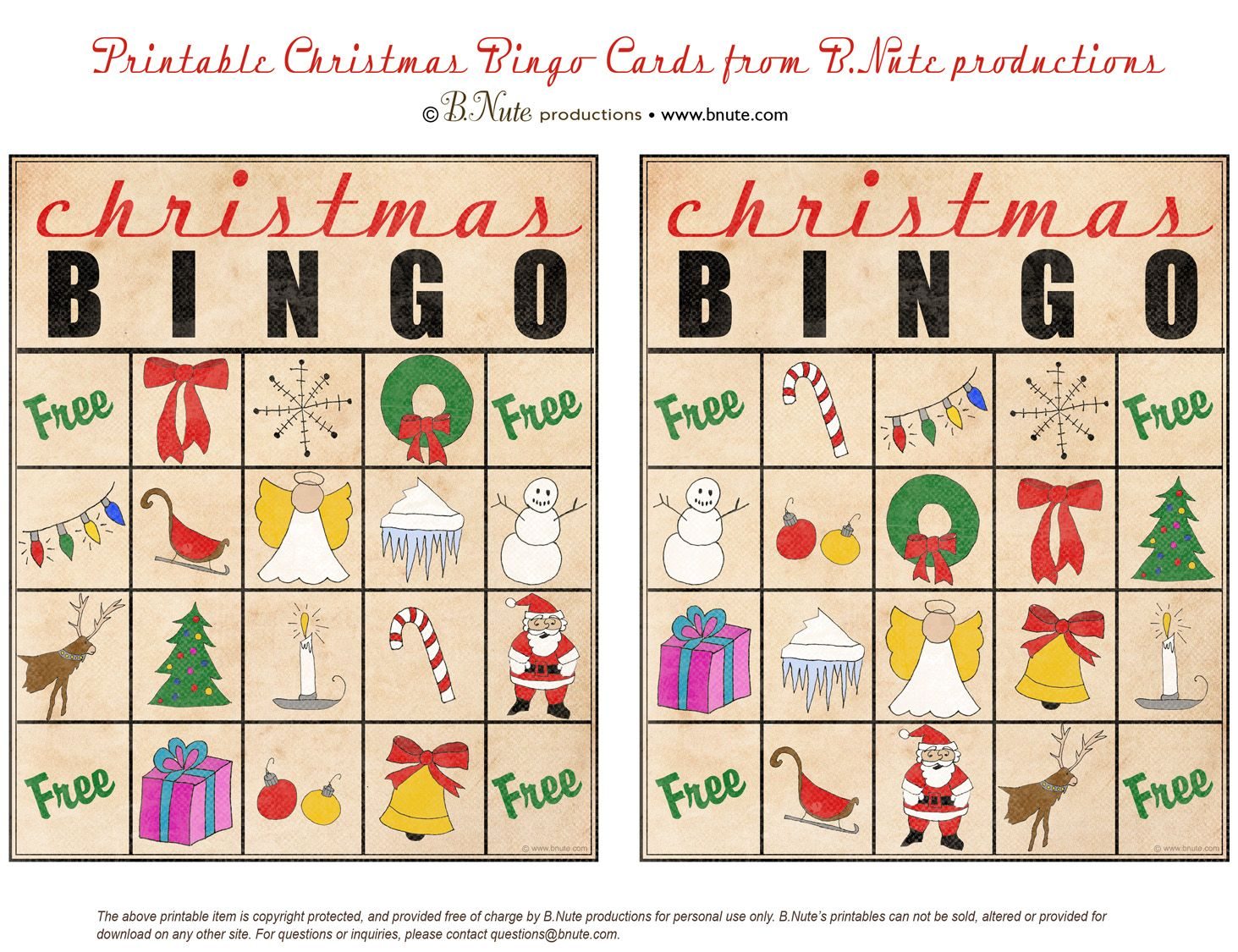 Bingo Xmas