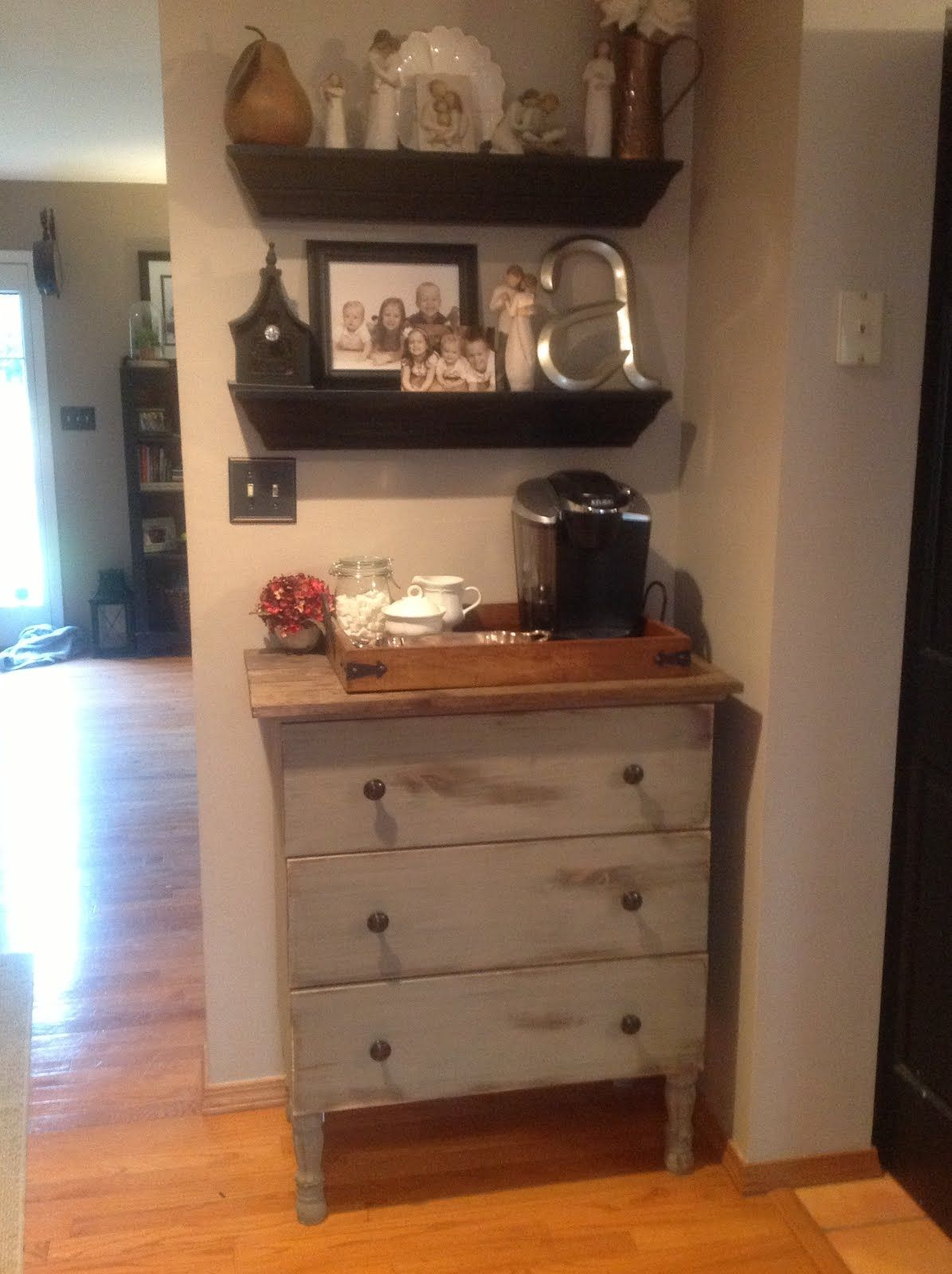 kitchen coffee cart white backsplash pictures does not have to be set up in like bar or