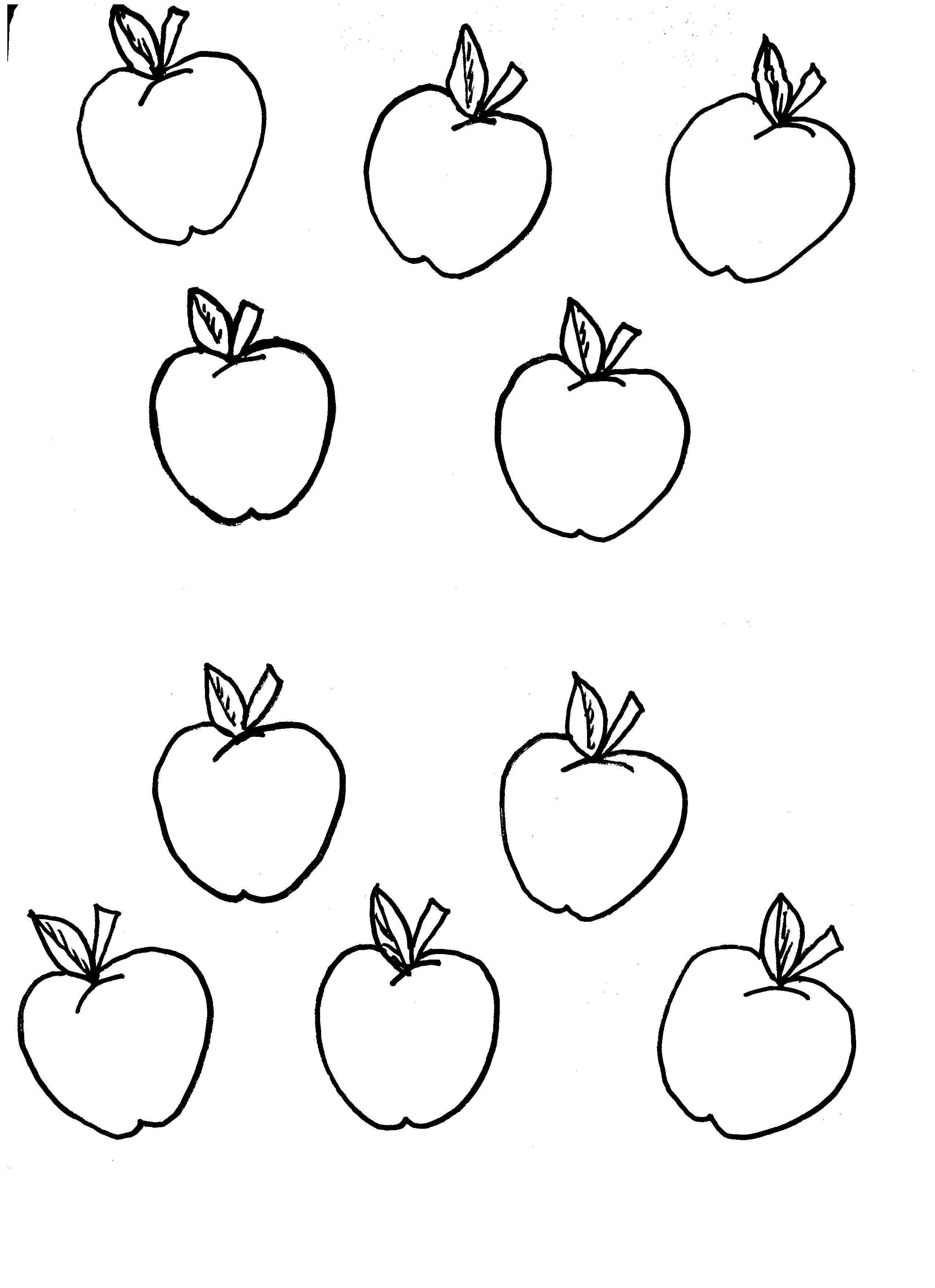 Apple Tree Template For Kids Recipes