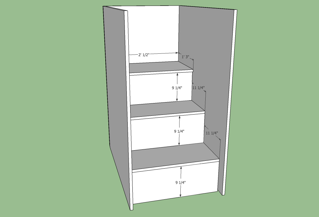Loft bed stairs plans Nov 25 2014 Storage stairs for a