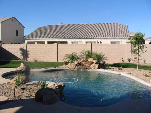 desert garden ideas desert pool landscaping ideas 300x225