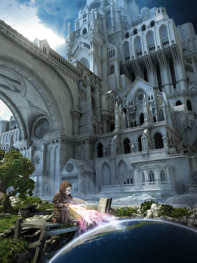Fantasy+architecture  Fantasy Architecture  De Cuento