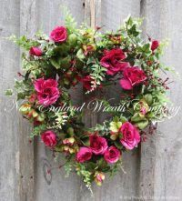 Victorian Cottage Heart Wreath ~A New England Wreath ...