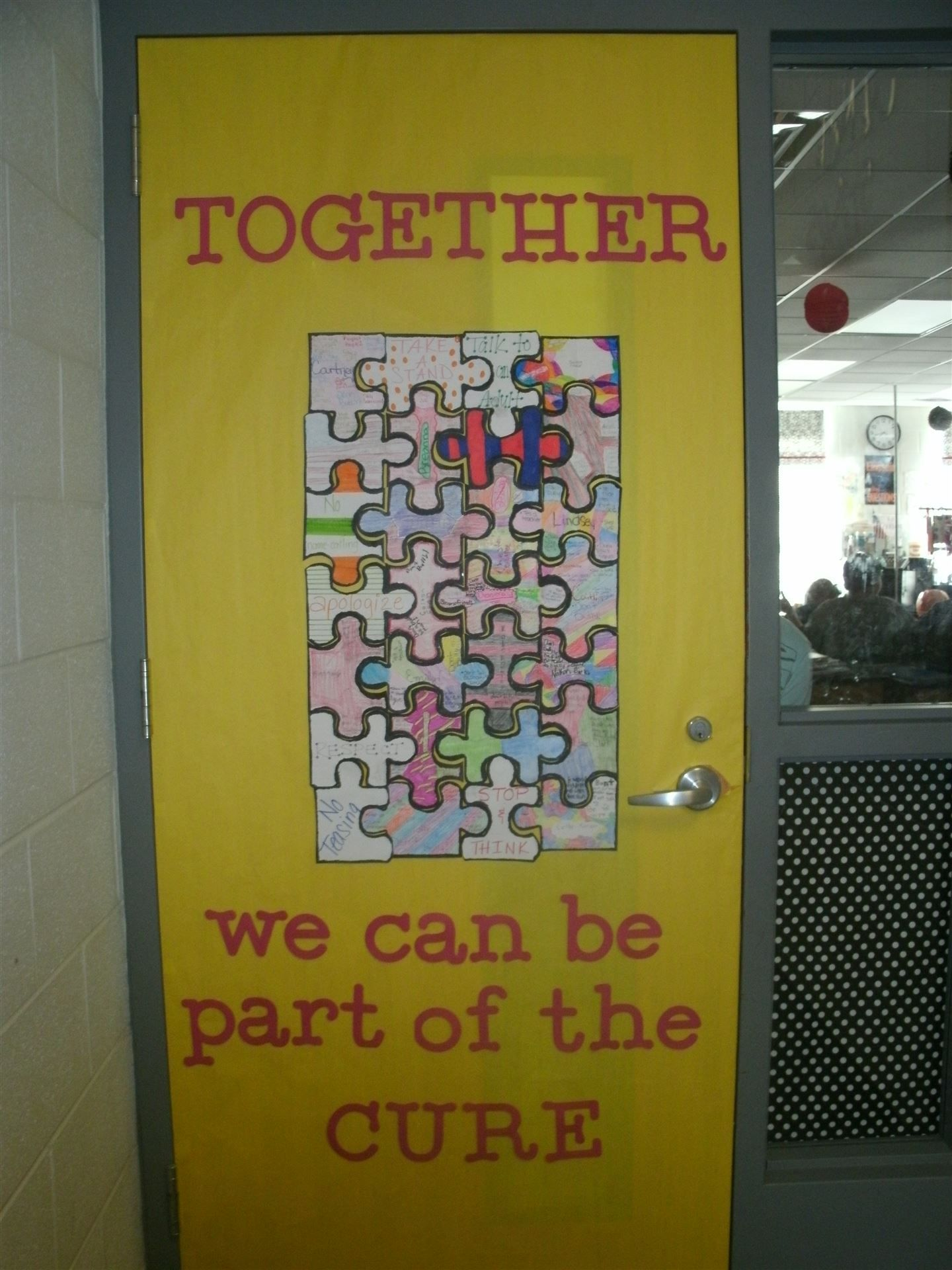 anti bullying door decorating ideas