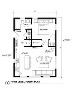 Ranch house plans maybe the kitchen on inside wall in center of room also rh pinterest