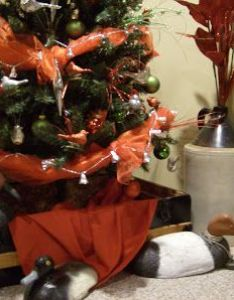 Interior fancy christmas decorations inside and outside the house dzlling decoration with tree duck statues also in  trunk creative me  my mcg pinterest vignettes rh
