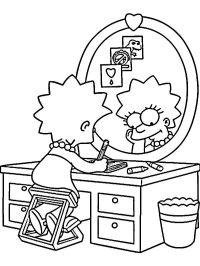 Disegni da colorare I Simpsons 14 | Disegni da colorare ...
